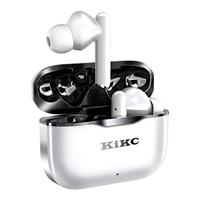 Prime Deal: Kikc T6 Wireless Headphones with Charging Case