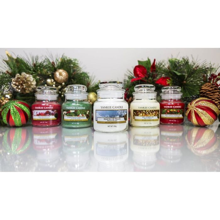 3 Assorted Classic Festive Small Jars