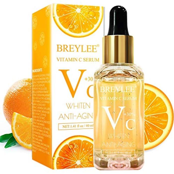 Vitamin C Serum, BREYLEE Anti-Aging Facial Serum