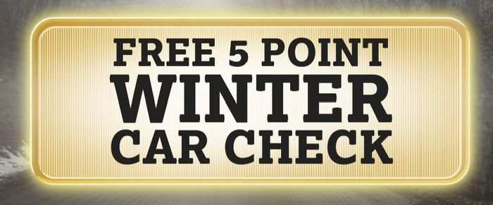 Free 5 Point Car Check