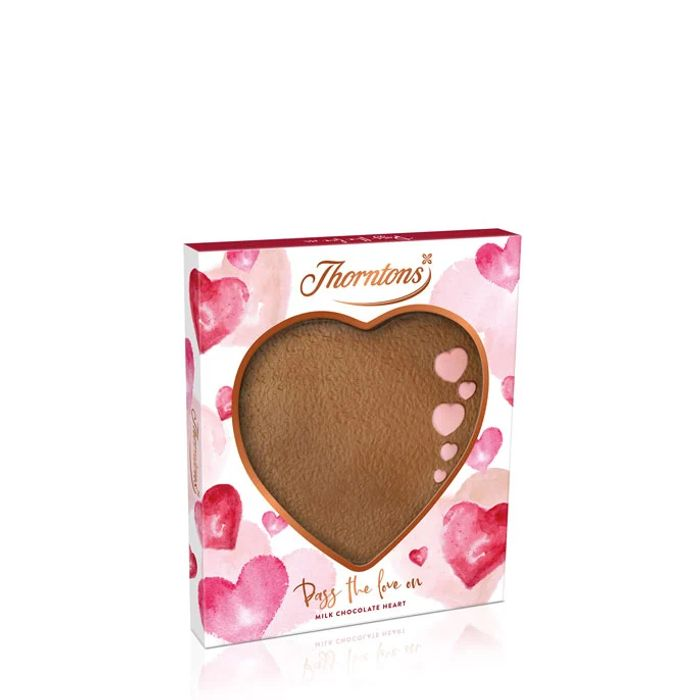 Thorntons Chocolate Heart Plaque, Only £2.00!