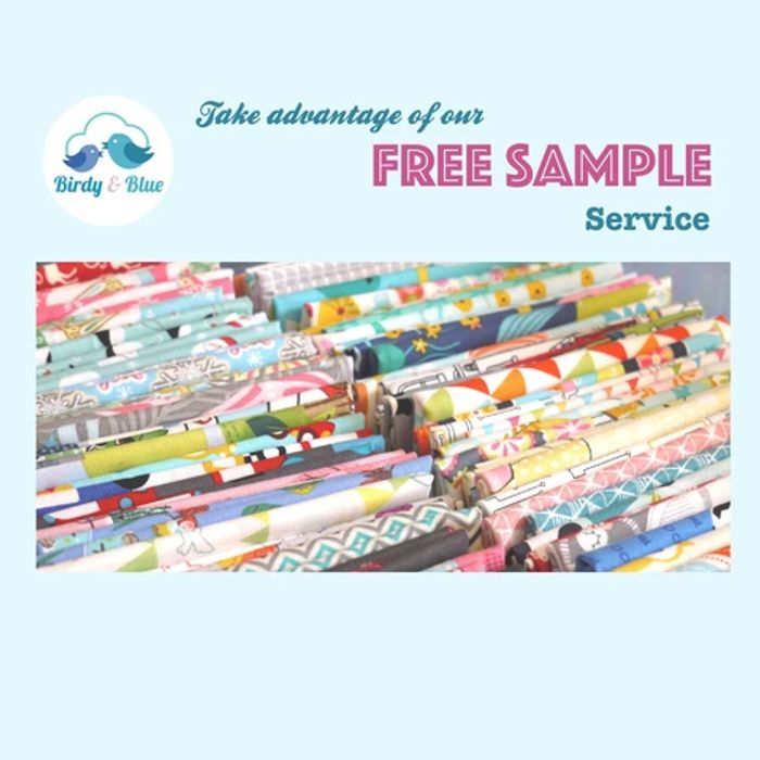 3 Free Fabric Swatch Samples.