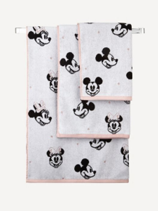 Disney Mickey and Minnie Mouse Hand Towel