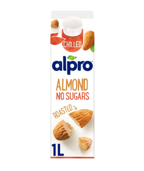 Cheap Alpro Almond No Sugars Roasted Chilled Drink 1L - Only £1!