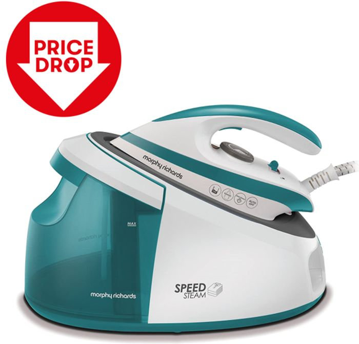 PRICE DROP! Morphy Richards 333203 Speed Steam Generator Iron