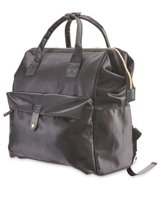 Mamia Black Baby Change Backpack