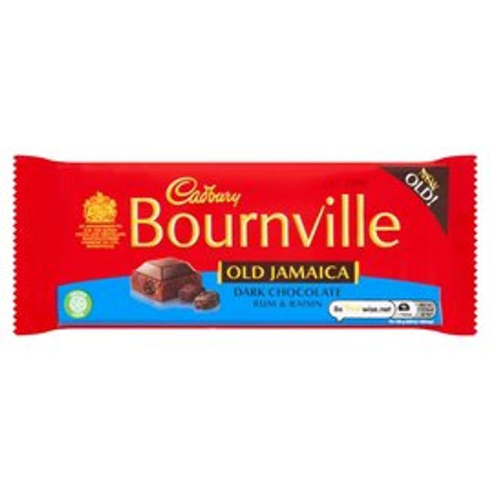 Cadbury Bournville Old Jamaica 180g