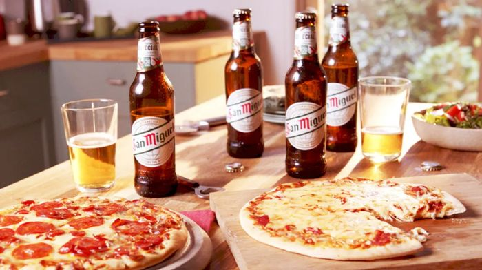 2 Pizzas and 4 Pack of San Miguel or Coke for £5
