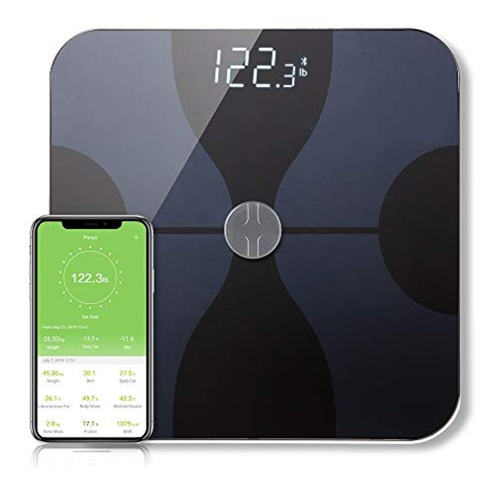 DEAL STACK - Bluetooth Bathroom Body Fat Scale