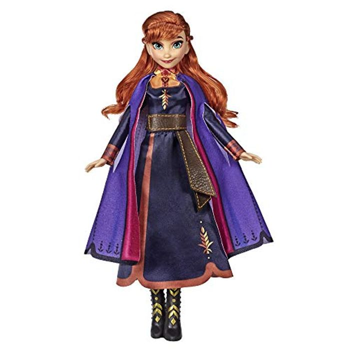 Disney Frozen Singing Anna Fashion Doll with Music