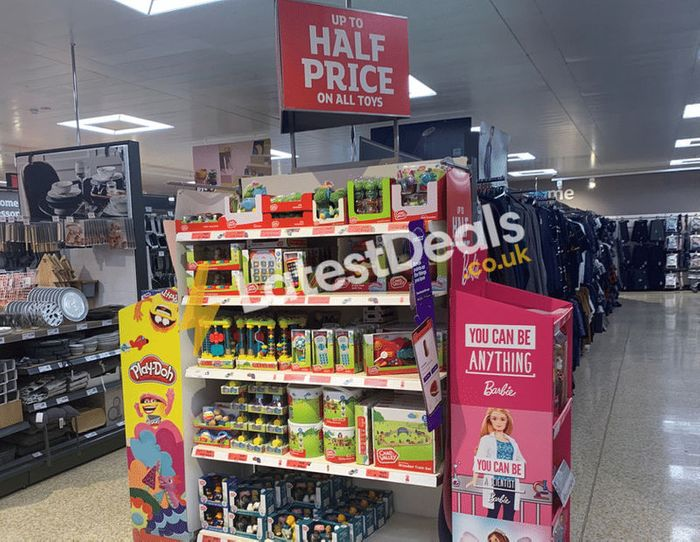 STARTS TODAY Sainsbury's 2020 Half Price Toy Sale
