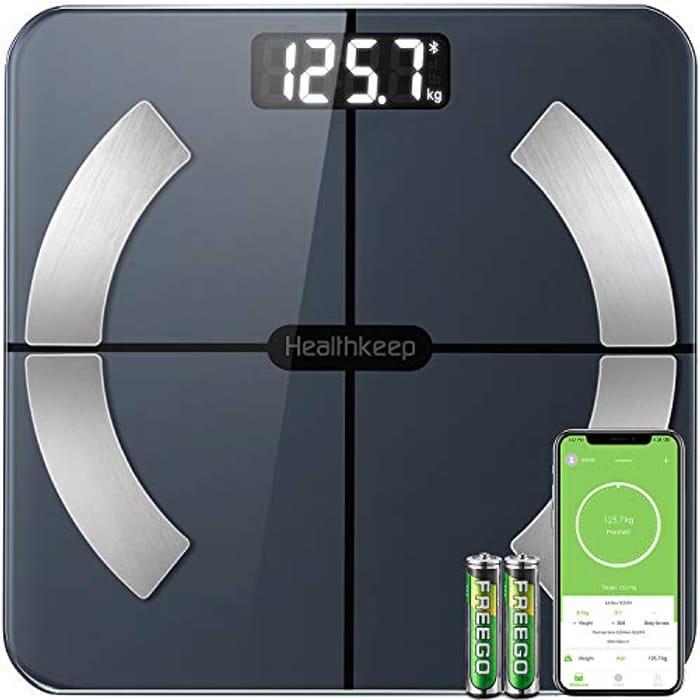 Bluetooth Body Fat Scales Smart Bathroom Scale Digital Body Weight Scales
