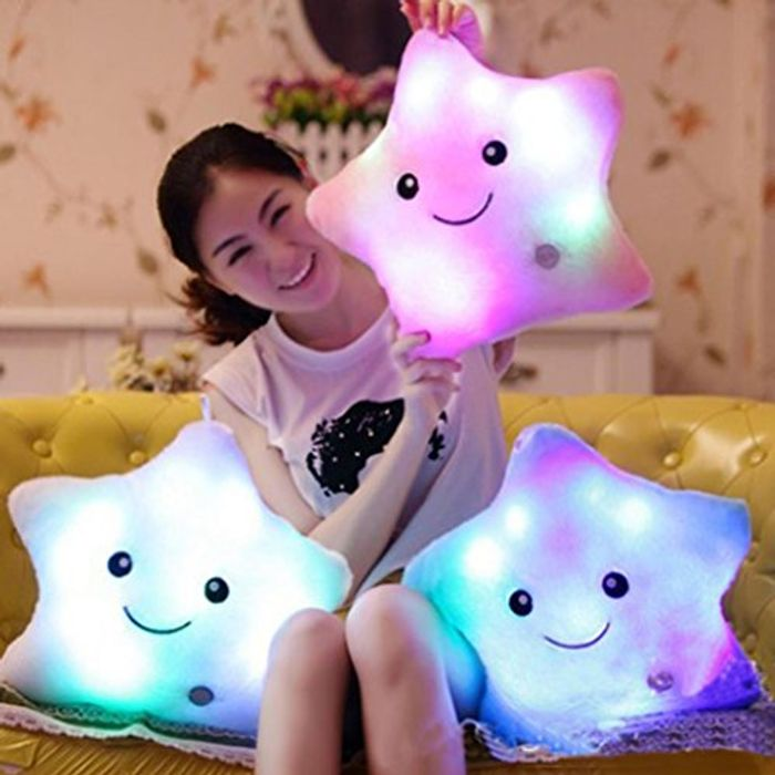 Light up Star Cushion at Amazon