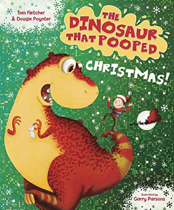 CHEAP! The Dinosaur That Pooped Christmas! **4.8 STARS** (Age 3-5)