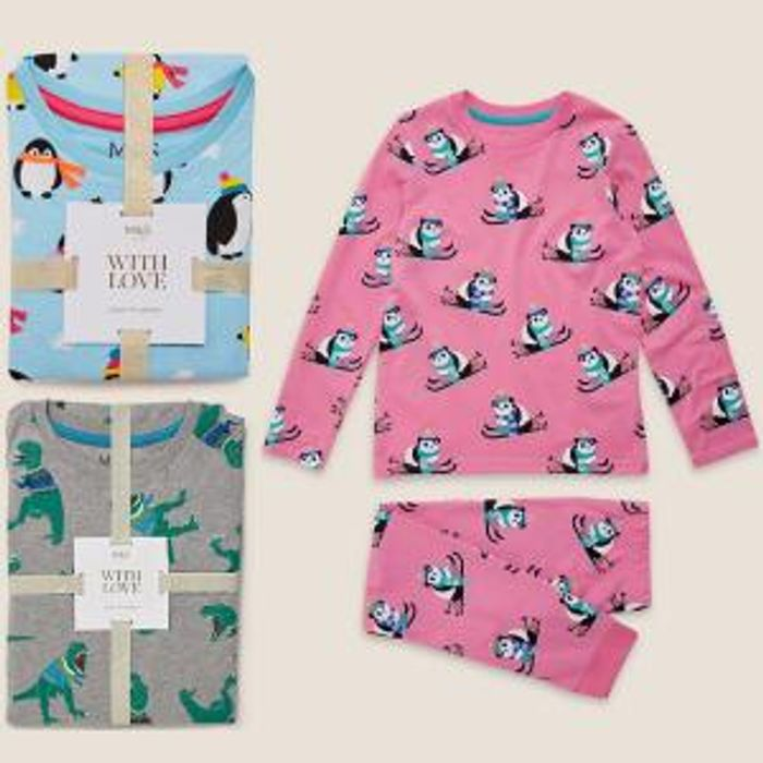 2 for £15 on Selected Kids Pyjamas + Free Click & Collect at Marks & Spencer