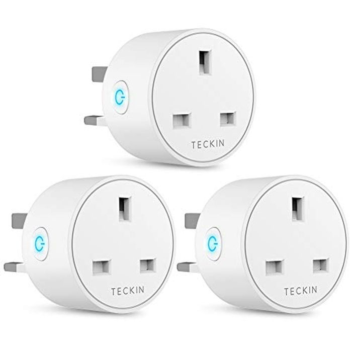 13A WiFi Smart Plugs Works with Alexa (3 Pack)
