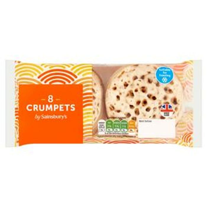 Sainsbury's Crumpets X8