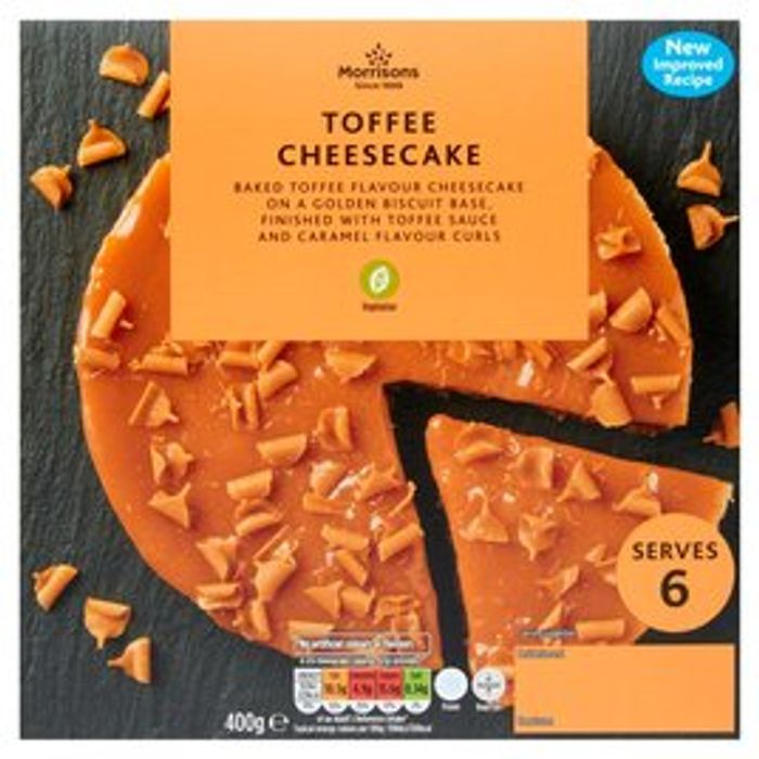 Morrisons Toffee Cheesecake 400g