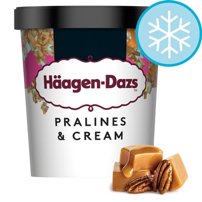 Haagen-Dazs Pralines & Cream Ice Cream