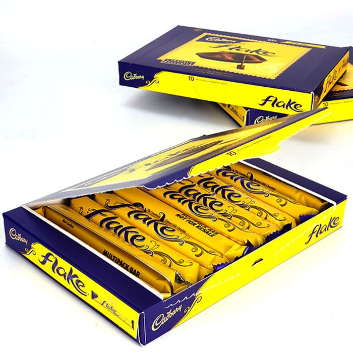 30 X Cadbury Flake Single Milk Chocolate Bars