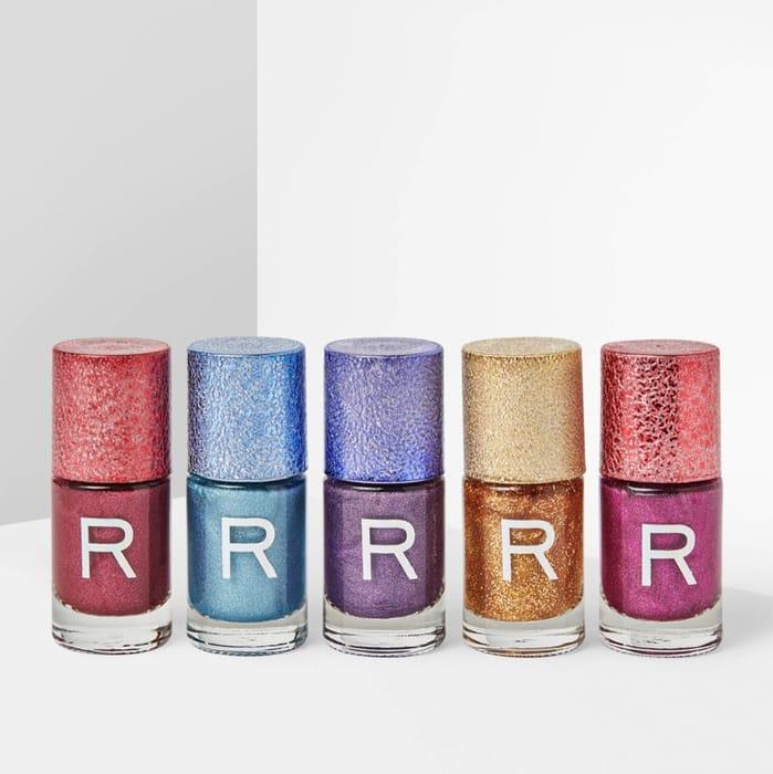 5 X Revolution Glitter Nail Polishes £6