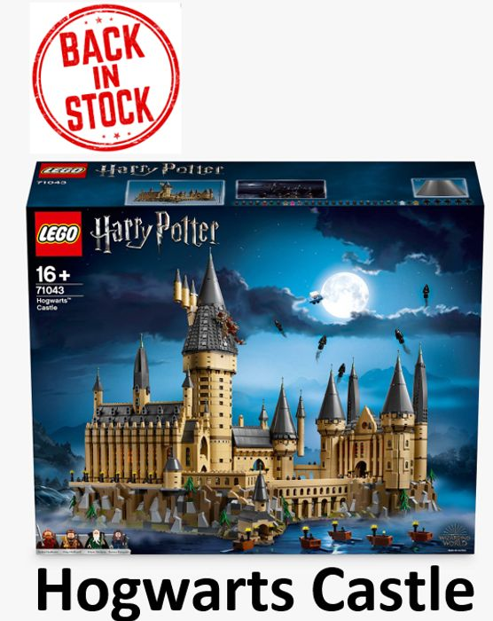 LEGO Harry Potter 71043 - Hogwarts Castle - BACK IN STOCK AT John Lewis