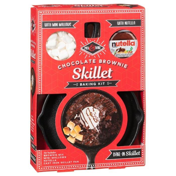 Cookie Cast Iron Skillet - Nutella