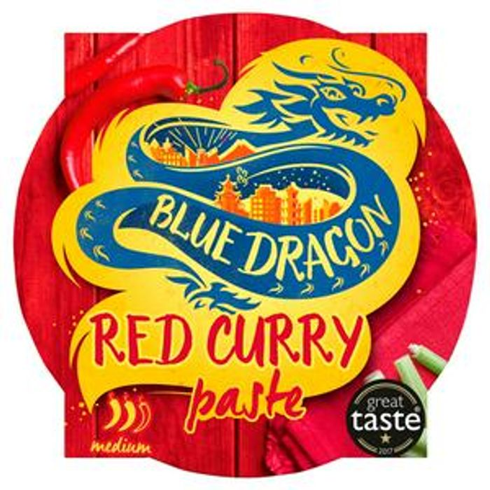 Blue Dragon Thai Red Curry Paste Pot 50g
