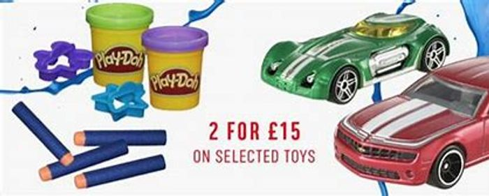 Argos 2 for £15 on Toys Great Deals to Be Had