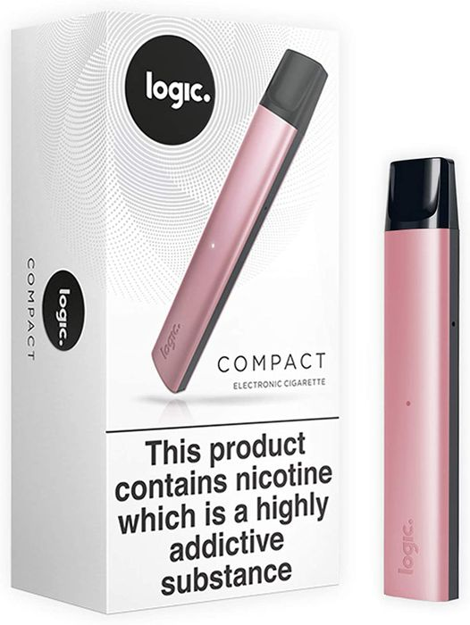 Back Again! Logic Compact, Vape Device Only, Rose Gold