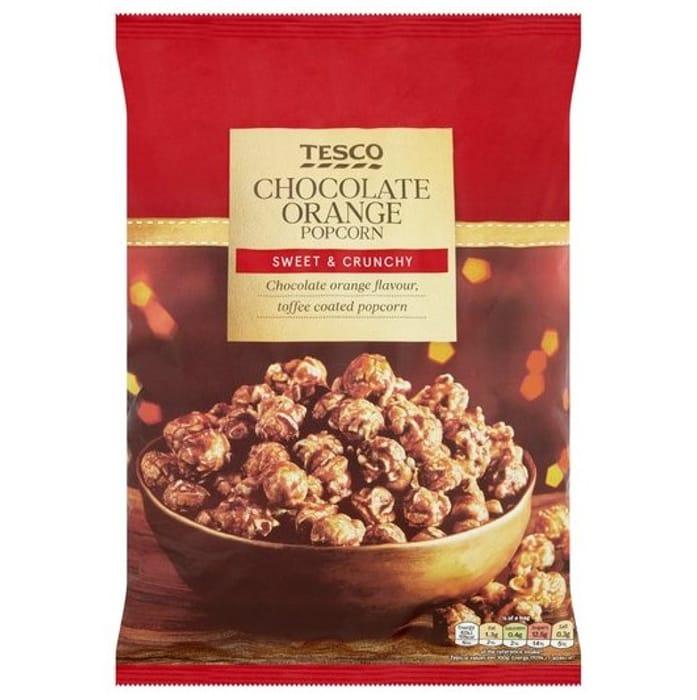 Tesco Chocolate Orange Popcorn 200G - Only £ 1.5!