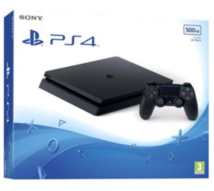 Sony PlayStation 4 Slim Console - Black (500GB)