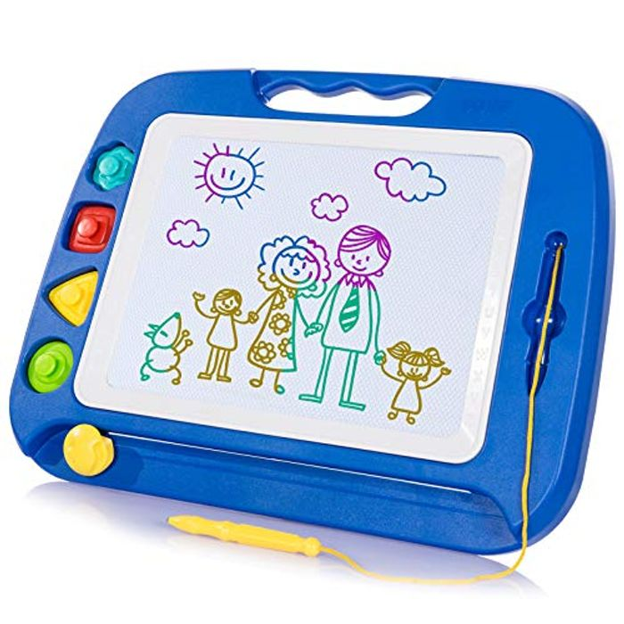 Large Magnetic Drawing Board - 4 Colors
