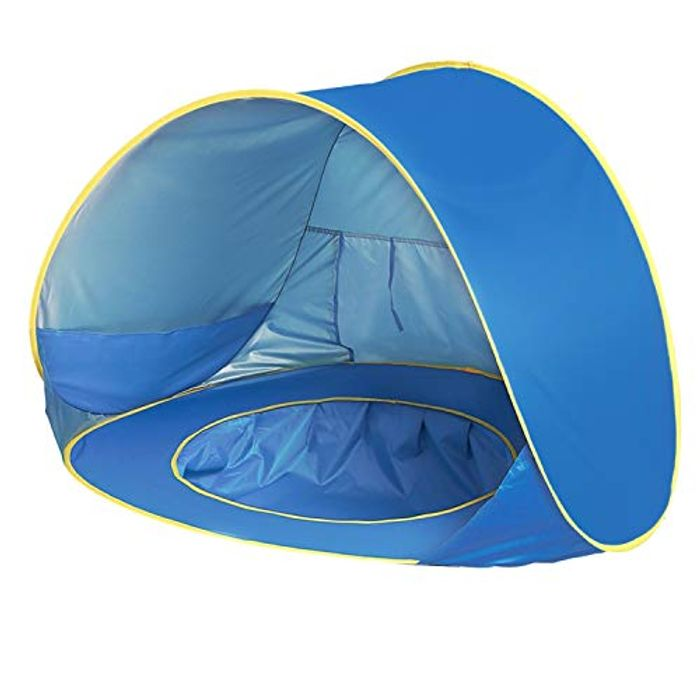 Baby Beach Tent,UPF 50+ Beach Camping Tent Anti-UV for 2-3 Kids