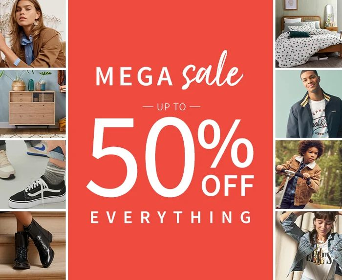 Special Offer - La Redoute - Winter Mega Sale Up To 50% Off Everything!
