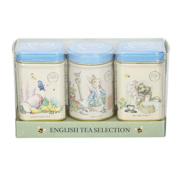 New English Teas Beatrix Potter Mini Tea Tin Gift