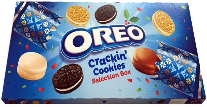 Oreo Crackin Cookies Selection Box,
