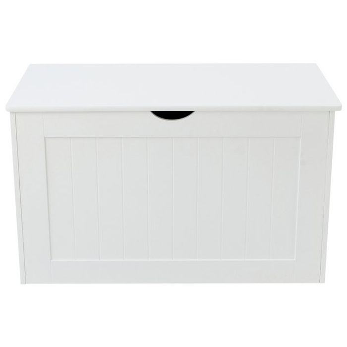 Argos Home Shaker Blanket Box - White Click & Collect