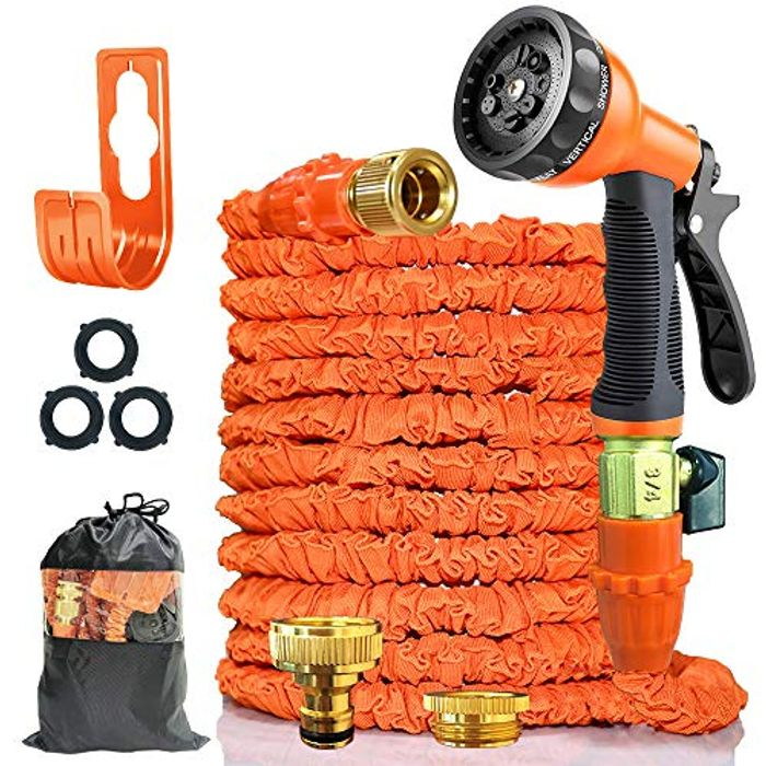 50% off 100FT Expandable Garden Water Hose Pipe