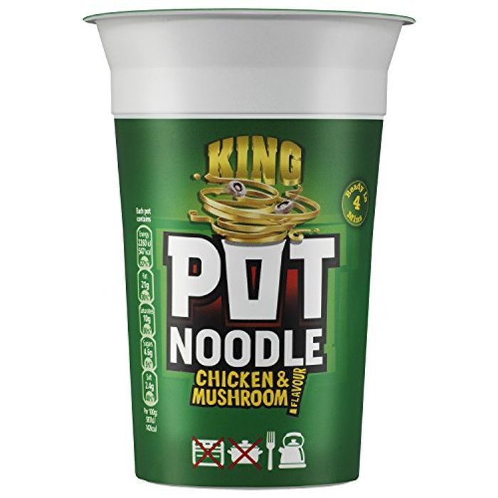 Pot Noodle Chicken and Mushroom King Pot, 114g