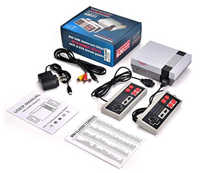 Retro Games Console With 620 Classic Video Games - £19.97