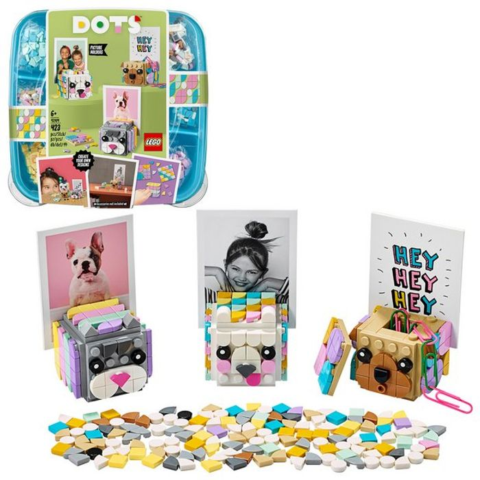 CHEAP! LEGO DOTS Animal Picture Holders DIY Craft Decor Set - 2 for £15