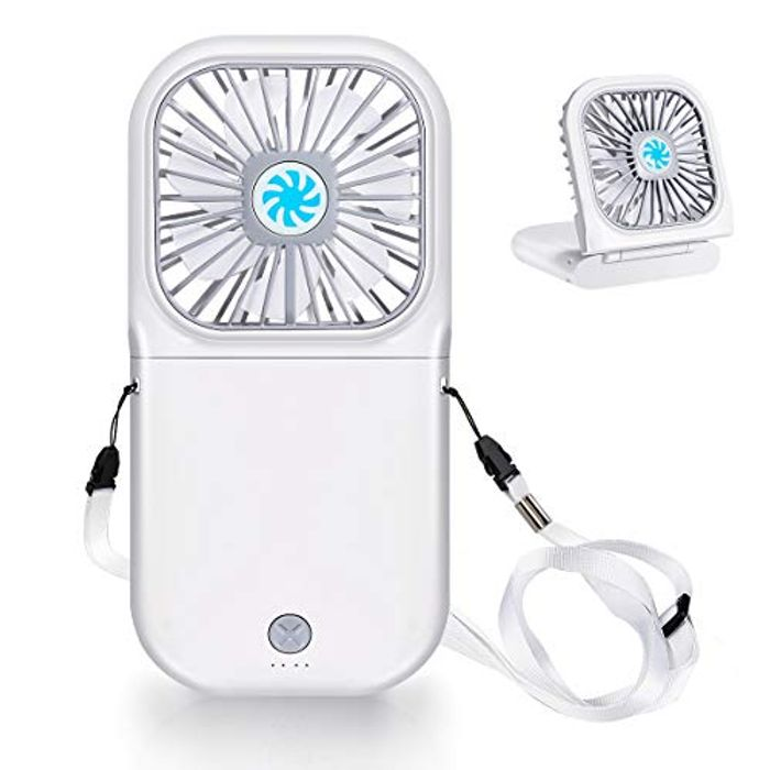 Deal Stack Portable Rechargeable USB Fan