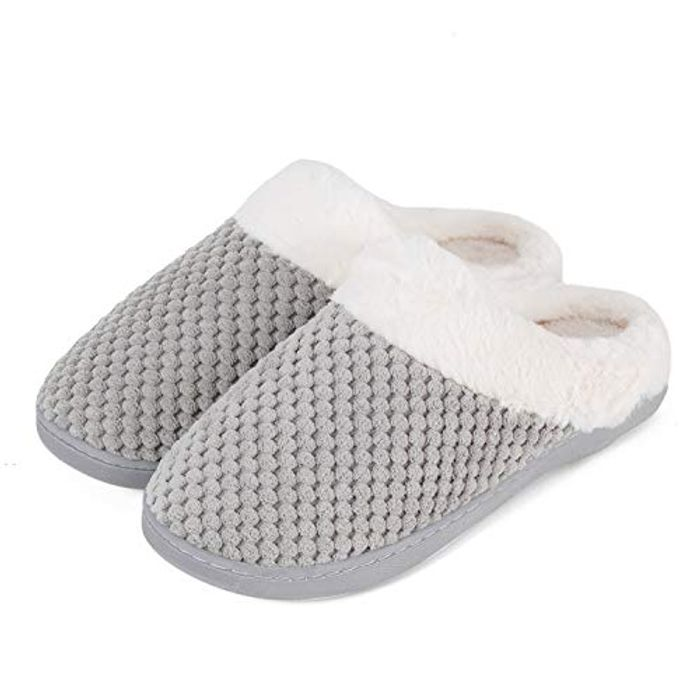 Cheap Ladiea House Slippers Memory Foam Slippers at Amazon