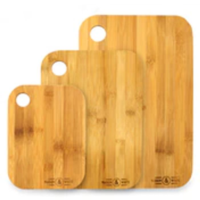 Set of 3 Bamboo Chopping Boards - Only £4.99!