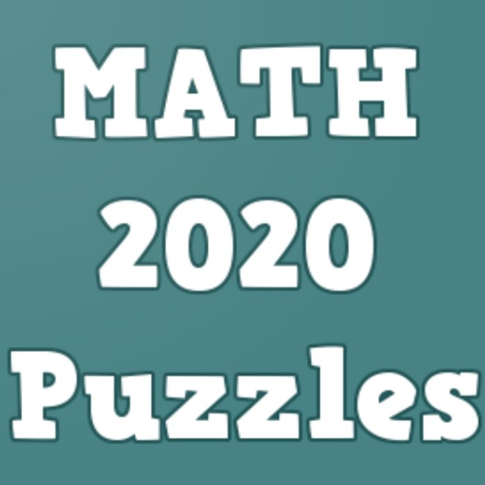 New Math Puzzles for Geniuses 2020 - Usually £9.49