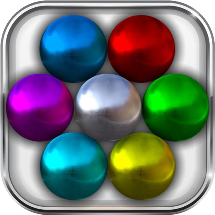 Magnet Balls: Match-Three Physics Puzzle - Usually £0.59