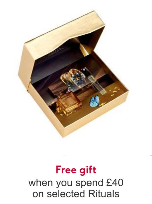 Free Rituals Eau De Parfum Gift Spend £40 on Rituals - Whilst Stocks Last
