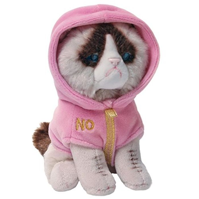 GUND Grumpy Cat Couture Soft Toy FREE DELIVERY