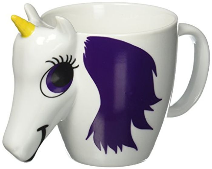 Changing Unicorn Mug, Ceramic, Multi-Colour